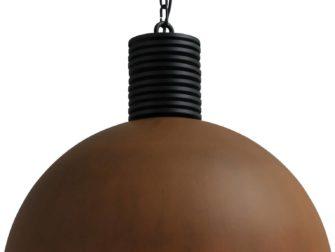 roestige hanglamp