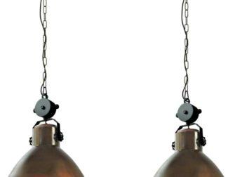 industriele hanglamp aan ketting