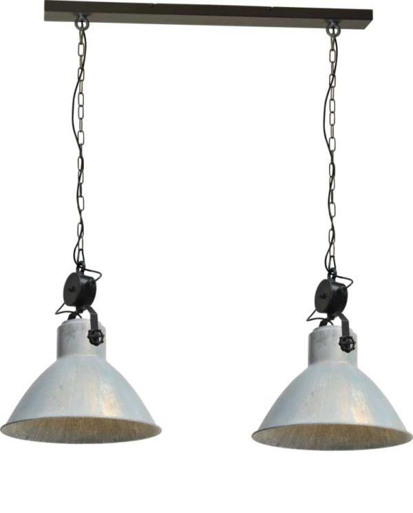 industriele hanglamp zink