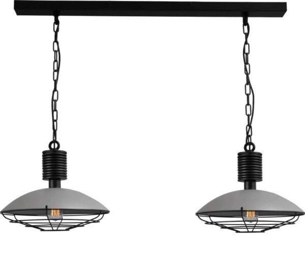 hanglampen met betonlook