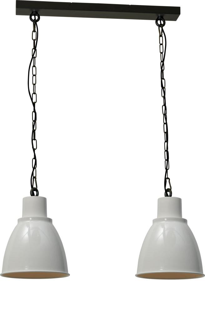 hanglamp industrieel wit