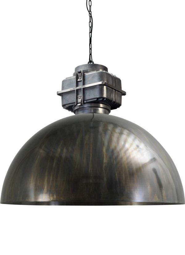 industriele hanglamp dappled oil