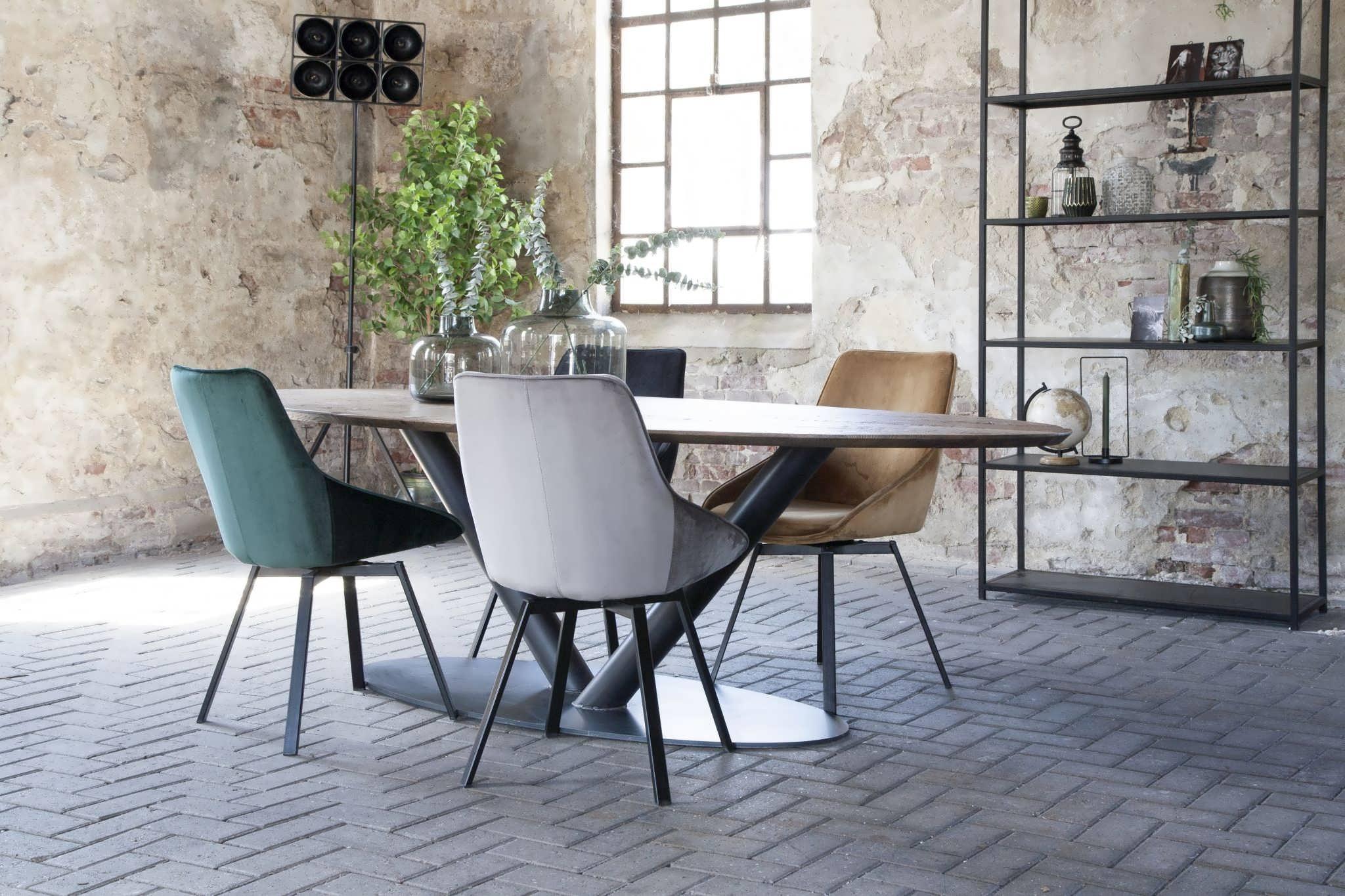 ovale industriele tafel