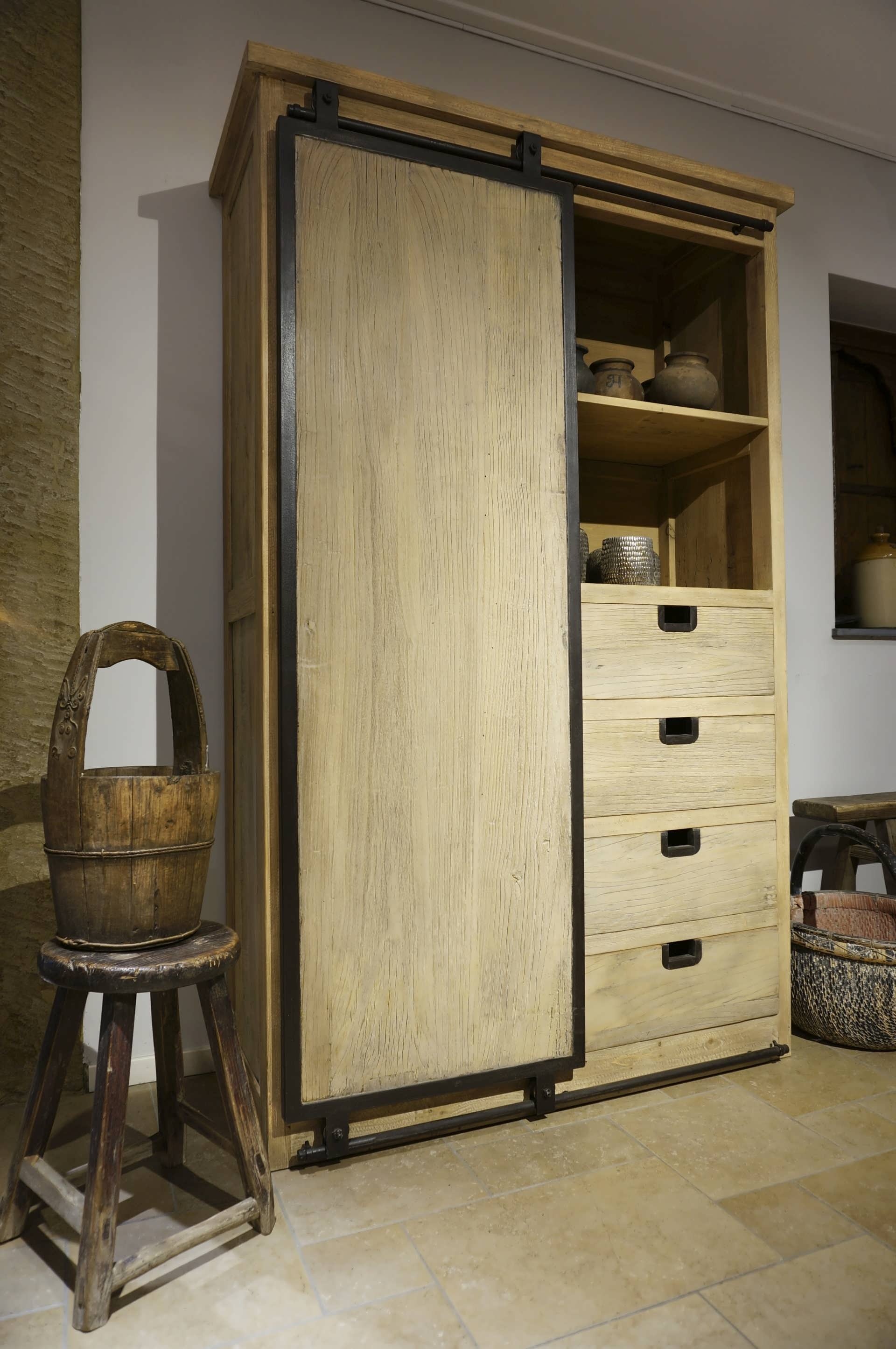 kast chinees hout