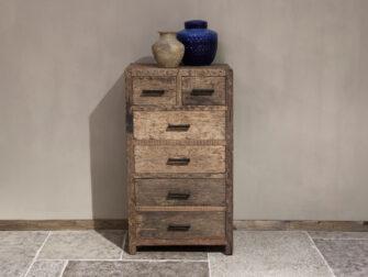ladekastje stoer hout