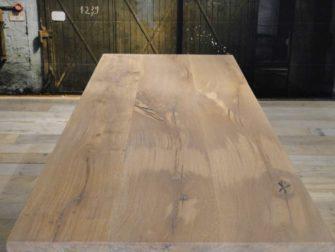 Ongerookt witte olie - 3 planken standaard rustiek