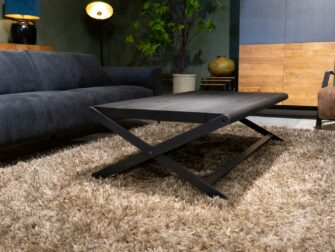Salontafel Bellaria 140x80cm intense black