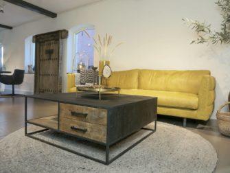 tv-meubel stalen onderstel