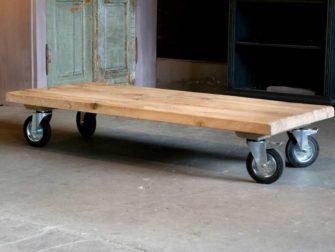 salontafel op wielen