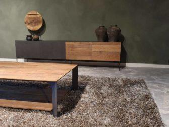 salontafel met dubbel blad