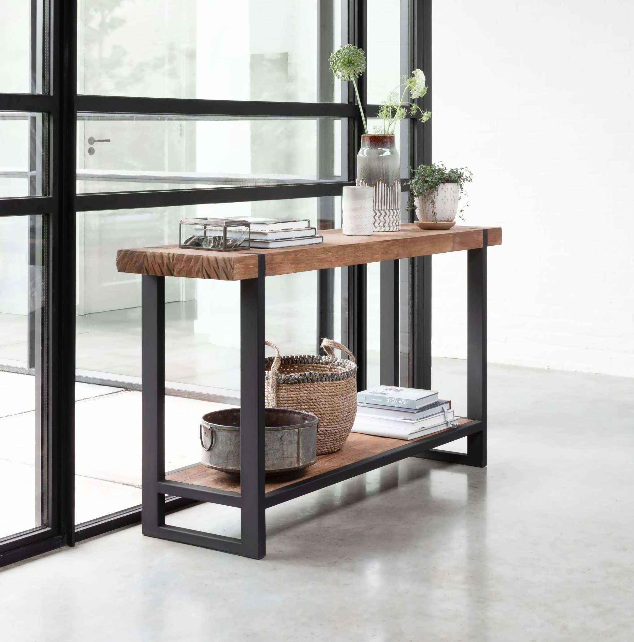 Industriele sidetable