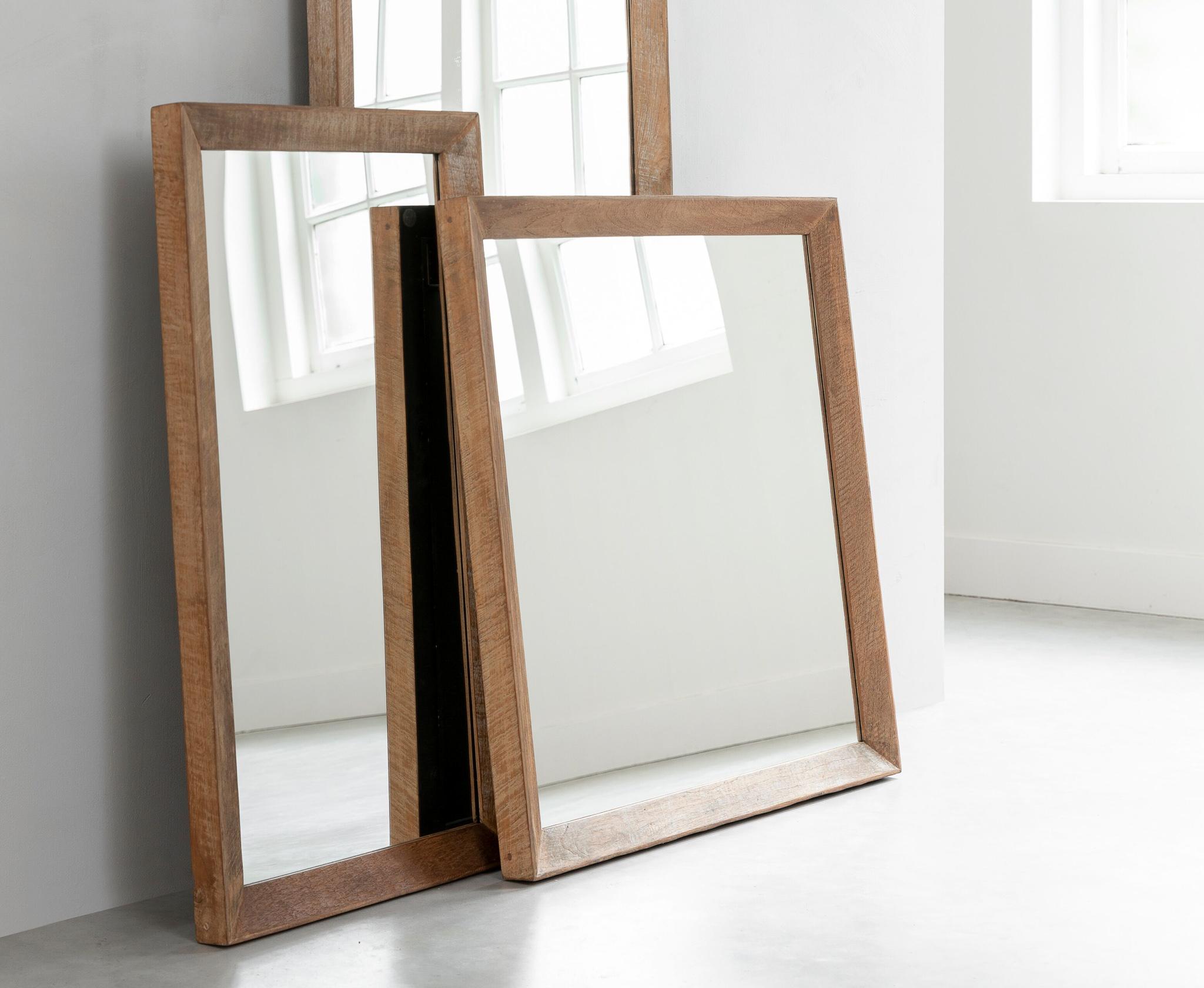 teak spiegel