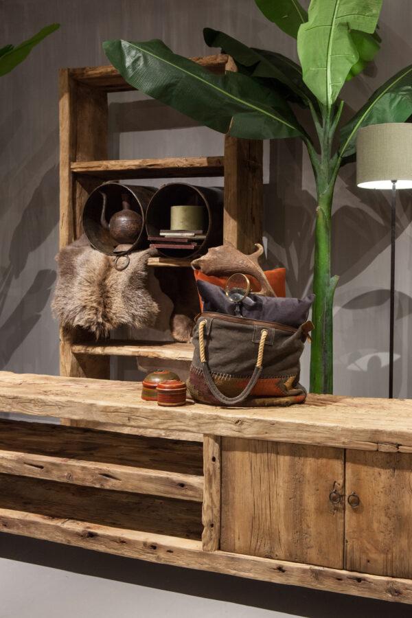 elmhouten tv-meubel