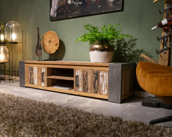 tv-meubel reclaimed teak