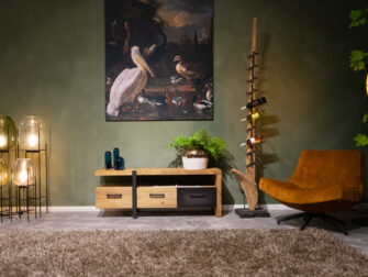 tv-meubel zwart