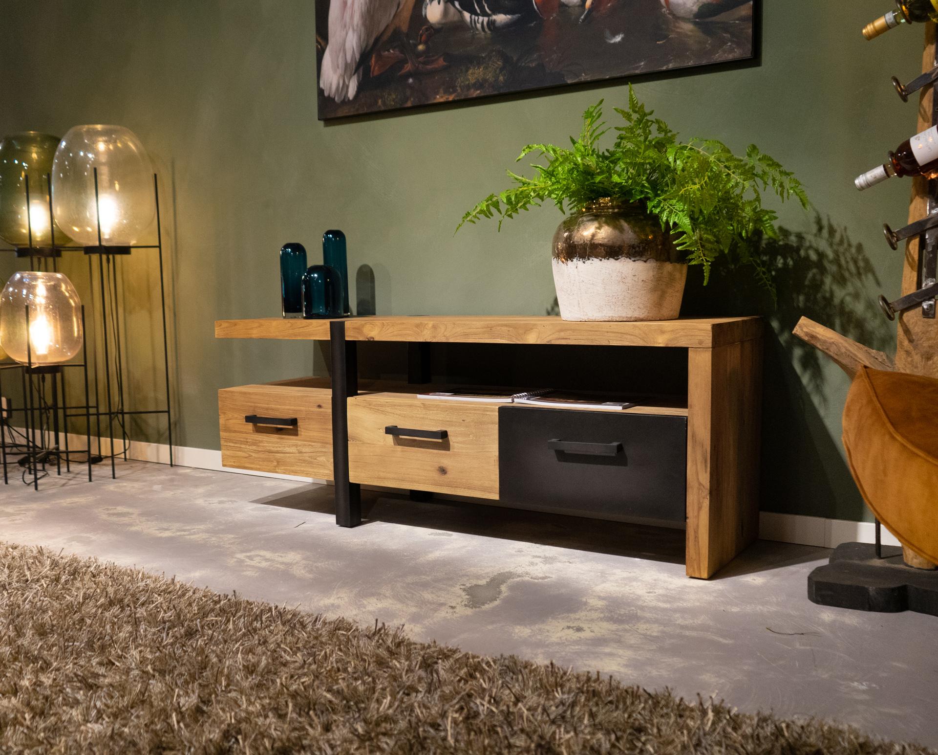 tv-meubel met laden