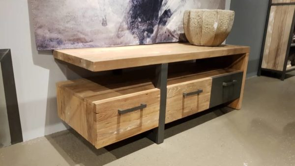 TV-meubel Canzano 3 laden - 145x50x55cm (4)