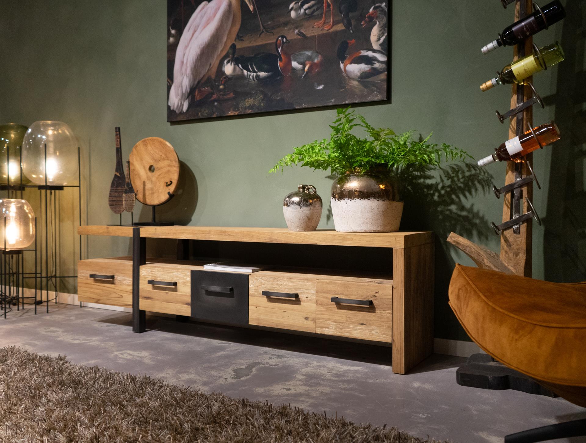tv-meubel met open vak