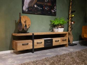 tv-meubel teak hout
