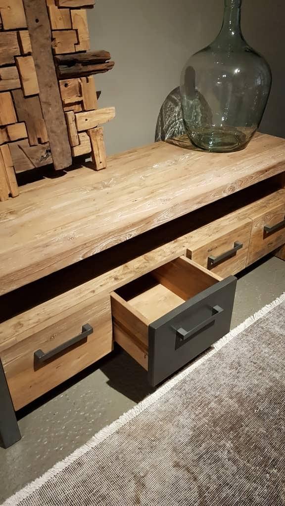 TV-meubel Canzano 5 laden - 190x50x55cm (1)