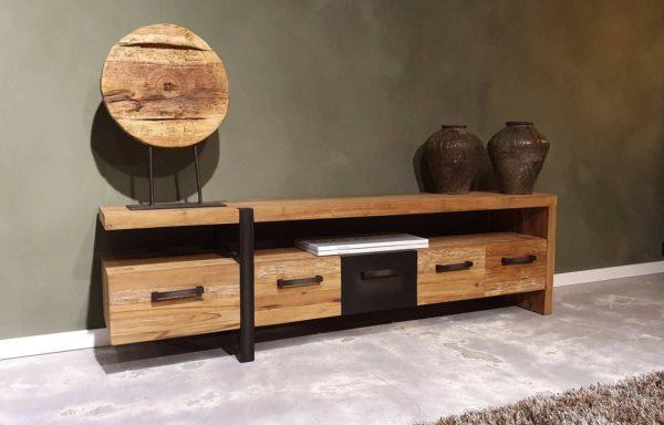teak houten tv-meubel