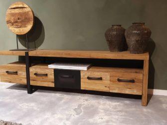 tv-meubel met veel laden