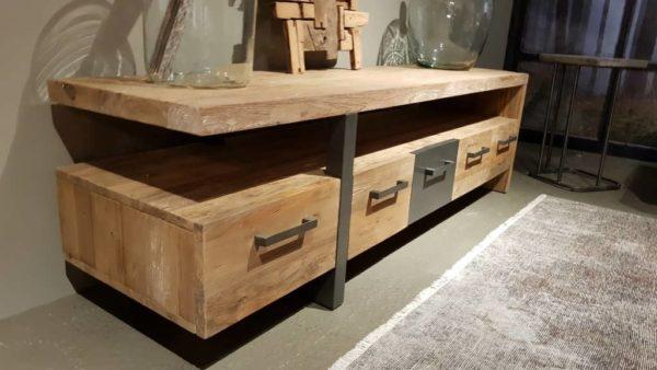 TV-meubel Canzano 5 laden - 190x50x55cm (5)