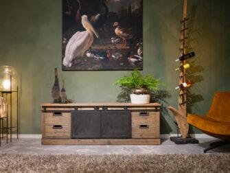 tv meubel met ijzer