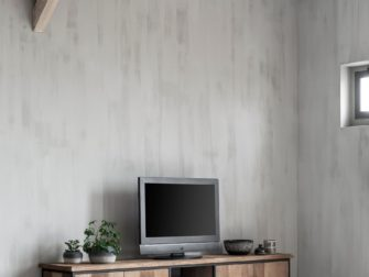tv meubel hout staal