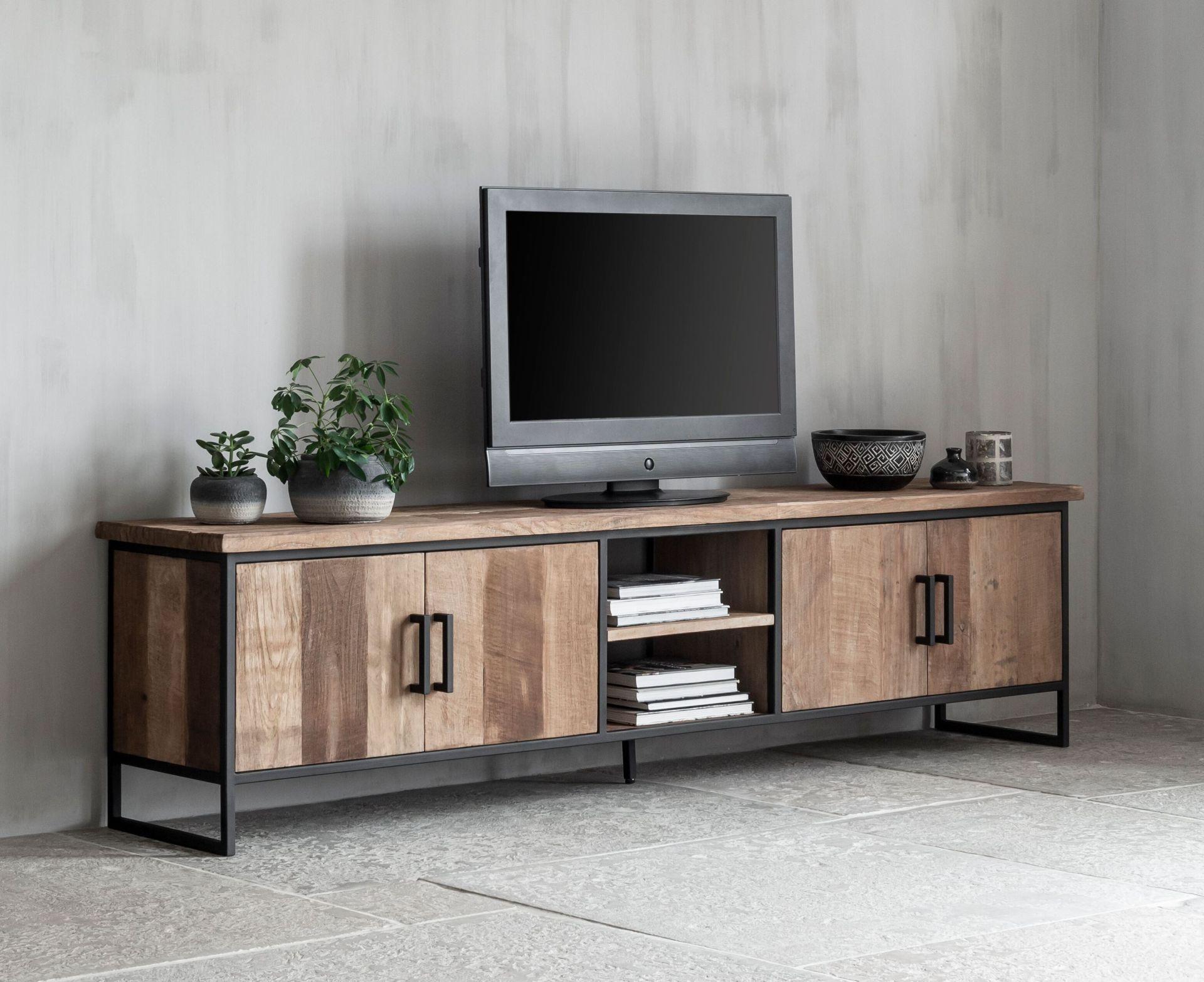 stalen tv meubel