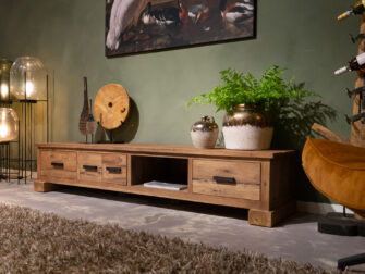 reclaimed teak tv-meubel