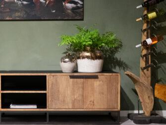 tv-meubel met deuren