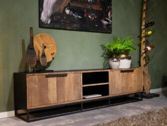 tv-meubel met open vakken