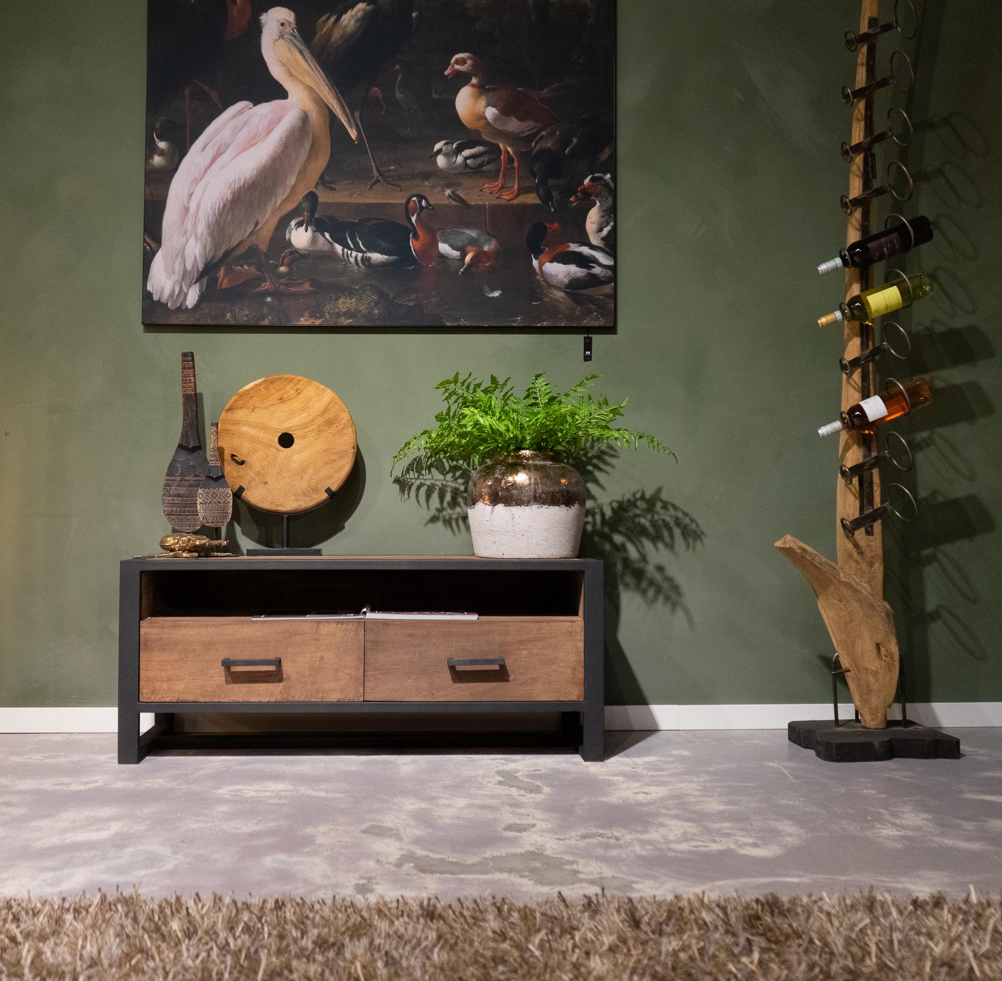 TV-meubel Maldini - 120x40x50cm - breed frame