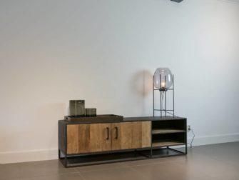 Modern tv meubel met hout