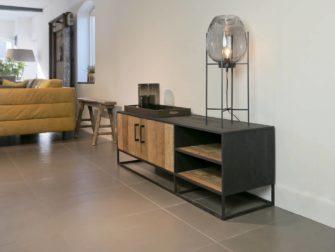 robuust tv meubel met open vak