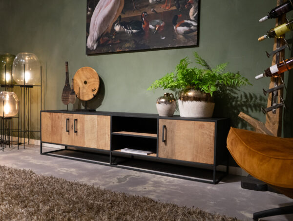 tv-meubel reclaimed teak