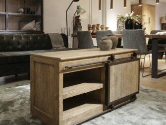 tv-meubel met schuifdeur