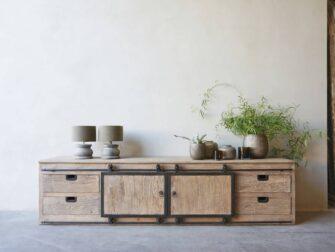 TV-meubel Narbonne 240x45x60cm - naturel
