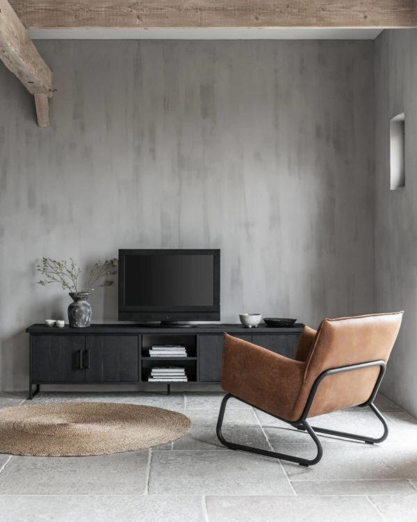 tv dressoir zwart