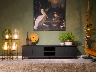 tv meubel met deuren