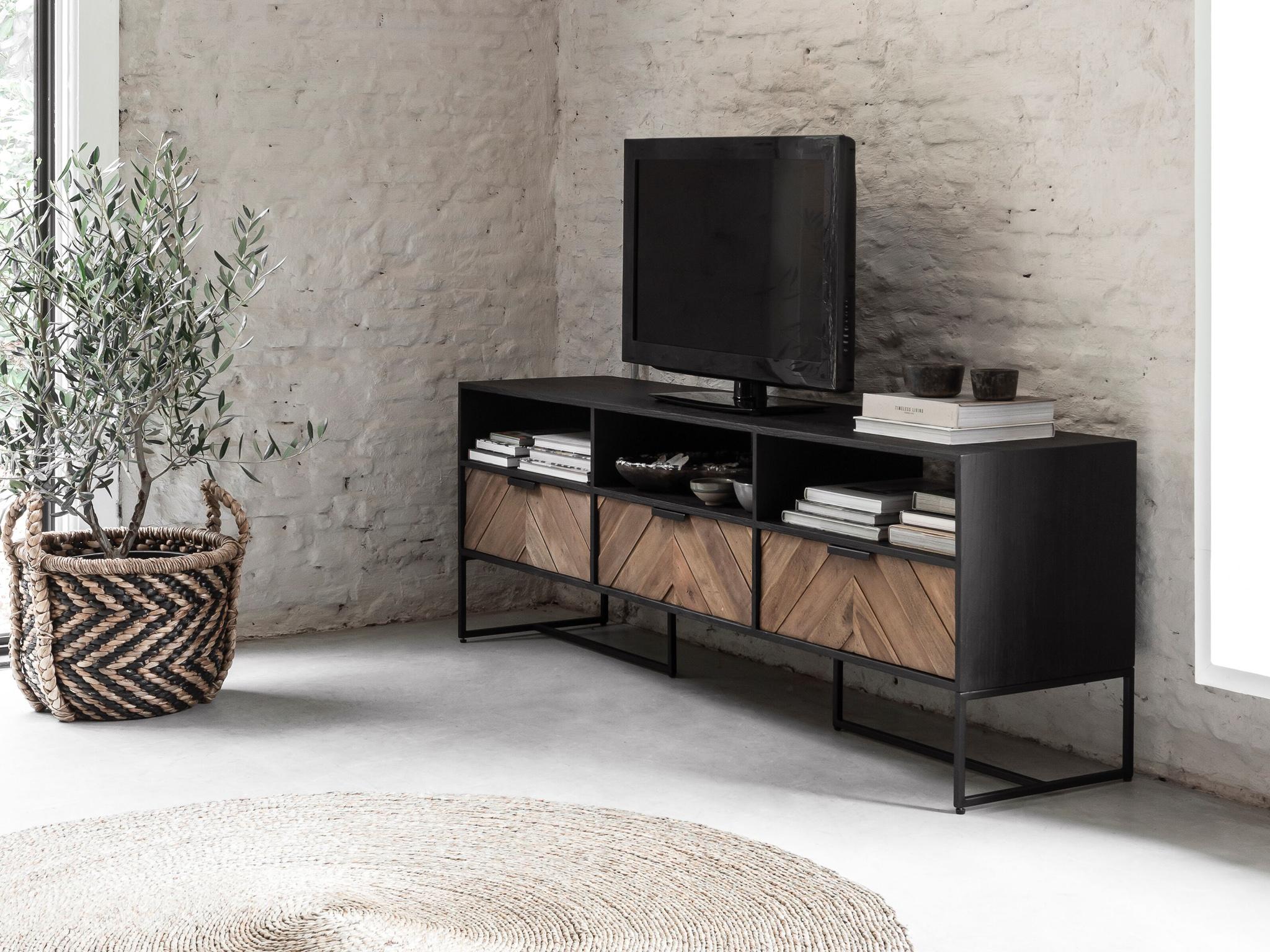 tv-meubel vis graat
