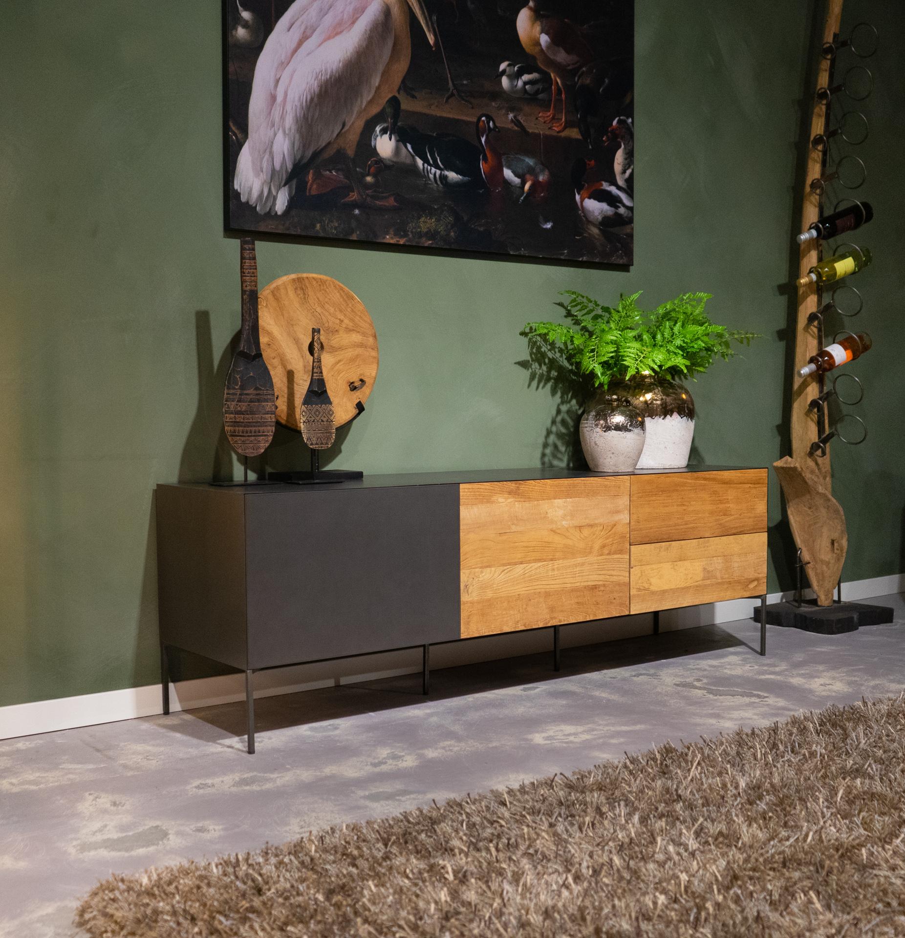 tv-meubel push to open