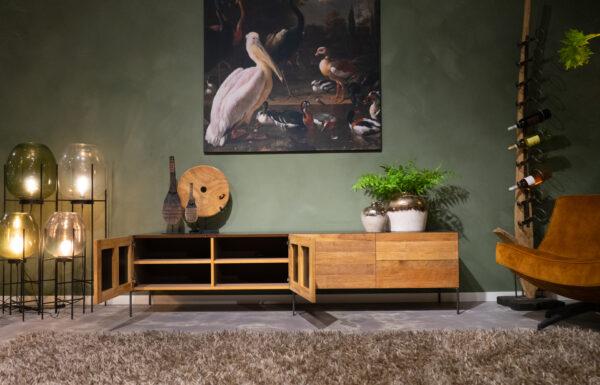 tv-meubel met opbergruimte