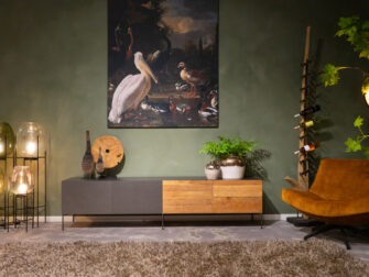 tv-meubel stalen frame