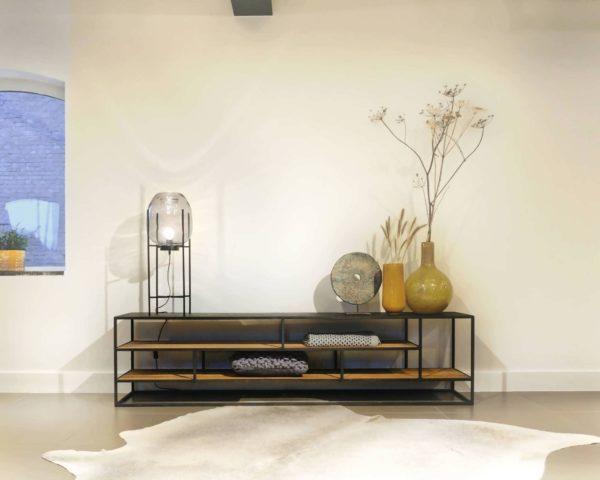 Audio meubel met open vakken