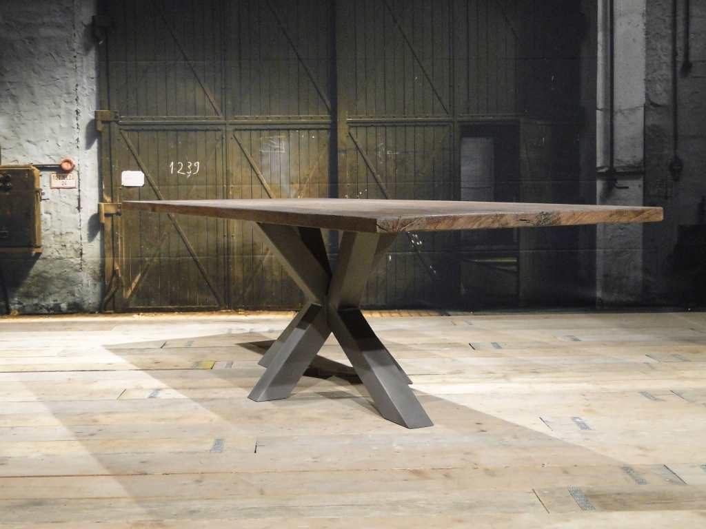 industriele matrix poot tafel