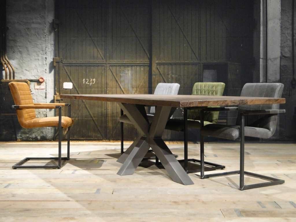 industriele tafel matrix poot