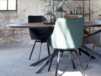 industriele tafel ovaal