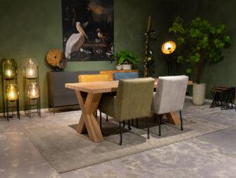 tafel voor 4 stoelen